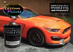 Ford - Competition Orange - Paint code: M7117A - Urethane ...