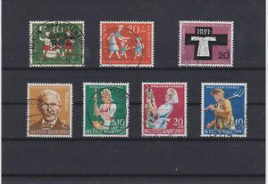 BRD LOT 50er Jahre Mi.Nr.250,251-297-300-313 - München, Deutschland - BRD LOT 50er Jahre Mi.Nr.250,251-297-300-313 - München, Deutschland