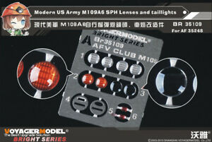 Voyager-1-35-Modern-US-M109A6-SPH-Lenses-amp-Taillights-for-AFV-Club-AF35248-1PE