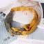 Women Yoga Two Colors Vintage Elastic Hair Band Twist Knot Warp Turban Headband