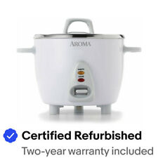 Aroma Select Stainless Rice Cooker & Warmer, 14-Cup(cooked) / 3Qt, ARC-757SG