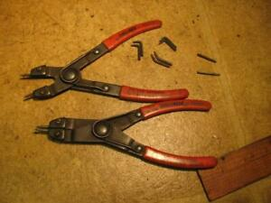 Internal External Snap Ring Pliers Proto 385 USA