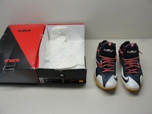 new arrival 4aac2 98bb4 Image is loading LEBRON-XI-MEN-039-S-NIKE-BASKETBALL-SNEAKERS-