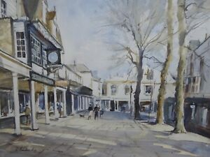PANTILES-TUNBRIDGE-WELLS-ARTIST-R-BUCKRIDGE-FREE-SHIPPING-TO-ENGLAND