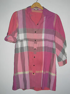 74f33f1b1afe TRES BELLE CHEMISE TUNIQUE BURBERRY BRIT Taille S F 38 36 I 40 42   eBay