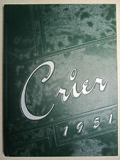 1951 CRIER - Boardman Ohio High School Yearbook - OH