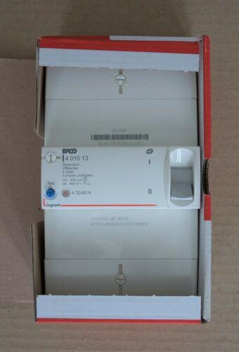 Disjoncteur de branchement 4P différentiel 500mA sélectif 30-60A LEGRAND 401013