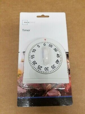 Norpro New 60 Minute Kitchen Timer With Long Ring 3.5//9cm Easy To Read Operate 1470