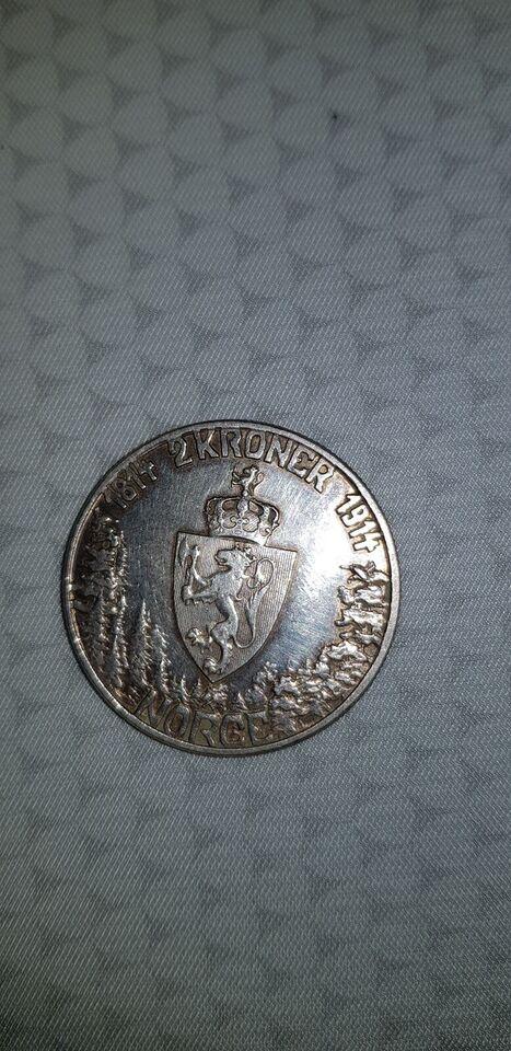 Skandinavien, mønter, 2 kroner