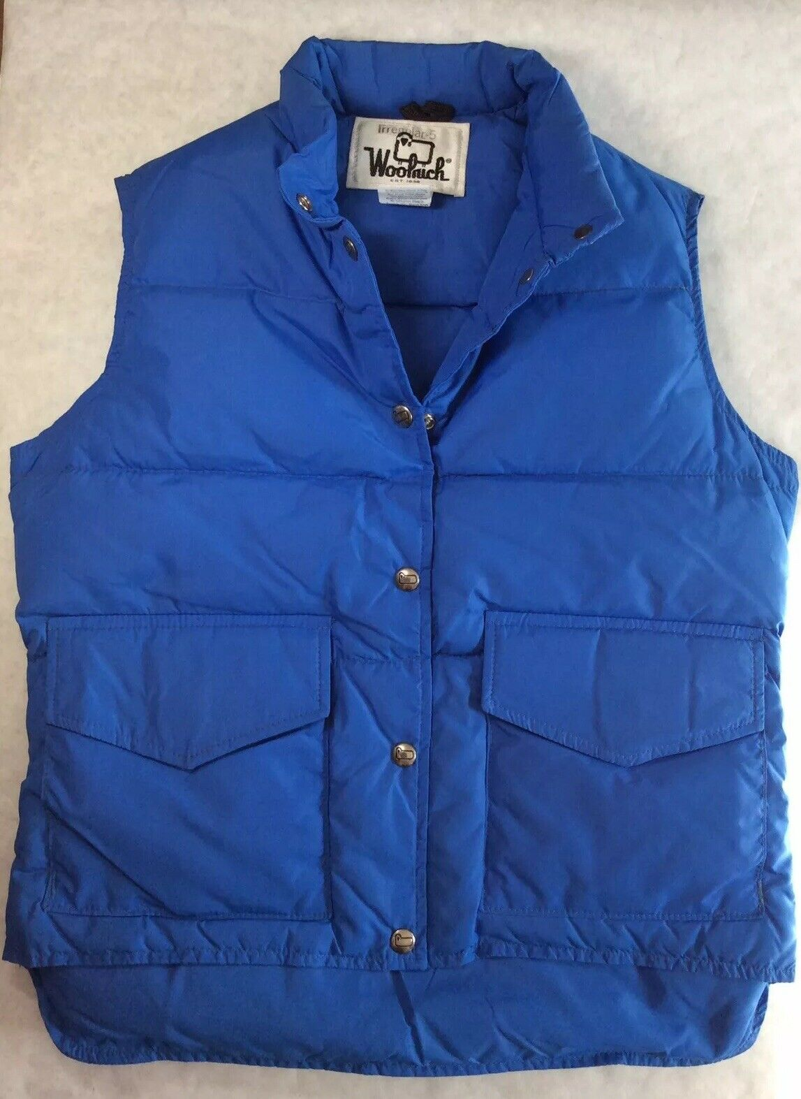 NWT NWT NWT Woolrich Womens Lightweight Down Vest Size M, L Red Salmon & bluee 3a950c