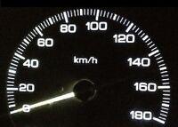 Dash Instrument Cluster Gauges White Smd Leds Lights Kit Fits 67-68 Ford Mustang