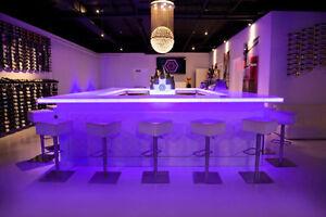 Superieur Image Is Loading LED Lighted Bar Shelves LED Liquor Bottle Display