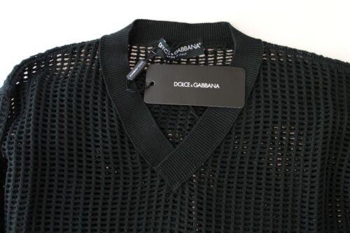 Rete Maglione Verde Scuro Nuova S A Con Runway Netz Etichetta Gabbana Dolce wqwnvxFC8