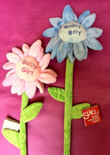 NEW BABY BOY /& BABY GIRL SUNFLOWERS Beautiful soft velour