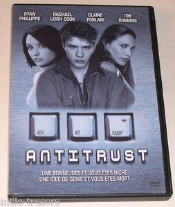 DVD-ANTITRUST-de-Peter-Howitt-avec-yan-Phillippe-Rachael-Leigh-Cook
