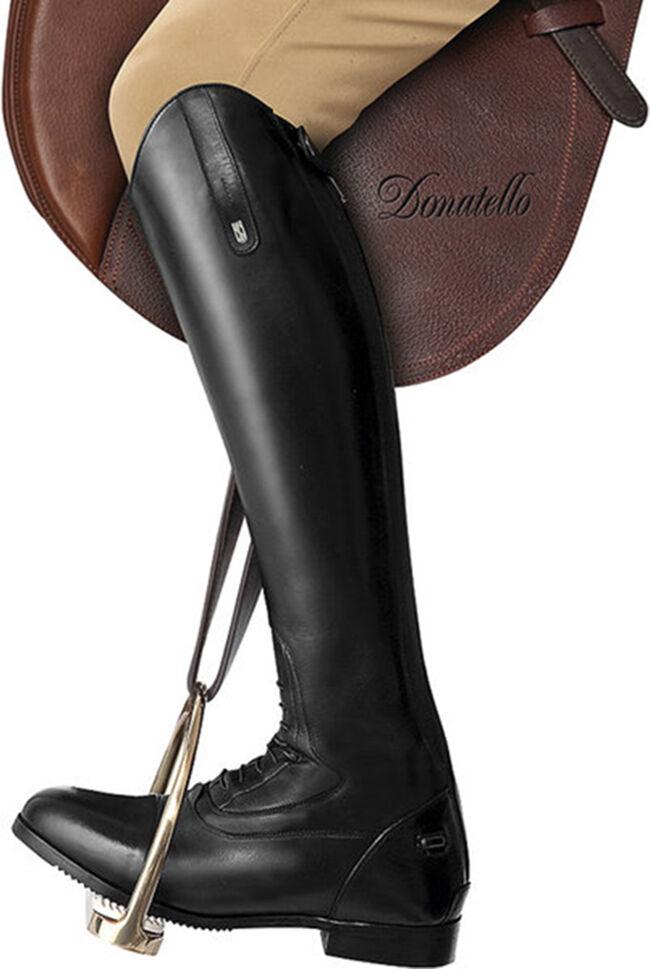 Trojostep lederreitbotas Donatello cordones cremallera (h46, 5 w39)