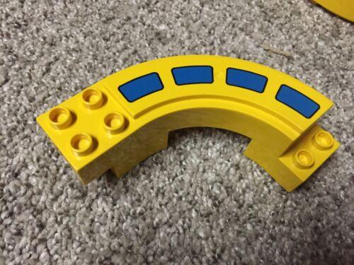 LEGO Duplo Mono Rail Tracks Cars Blue Red Yellow Green pick