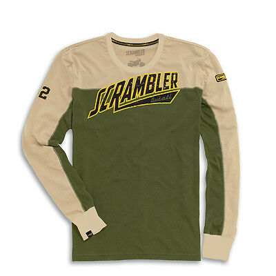 Scrambler By Ducati - Track Star Long Sleeve T-Shirt Large 987691755