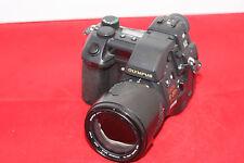 Olympus CAMEDIA E-20P 5.0MP Digitalkamera - Schwarz - DEFEKT #0141