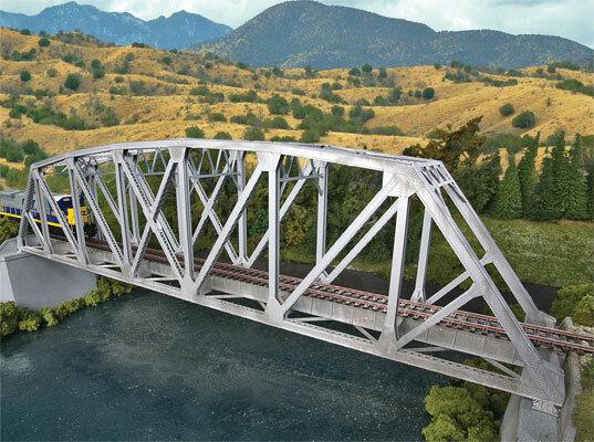 Pista h0 -- kit gran puente puente ferroviario - 4521 nuevo