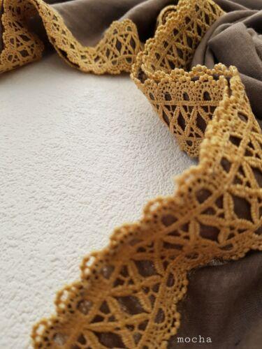 New Embroidery Hijab Lace Plain Cotton Shawl Sarong Wrap Scarf Big Large Maxi