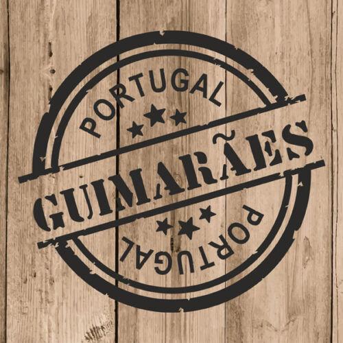 "Guimarães Sticker Vinyl 10 cm 4/"" Decal Stamp Guimarães Portugal Car Laptop"