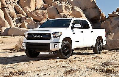 2017 2016 Tundra Trd Pro Grille W Hoodscoop White Genuine Toyota 531000c260a0 For Online Ebay