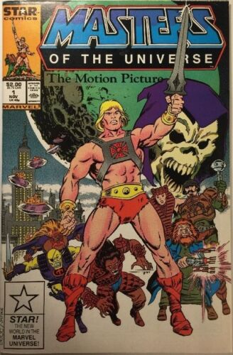 Rare movie adaptation! Masters Of The Universe The Motion Picture Comic HE-MAN