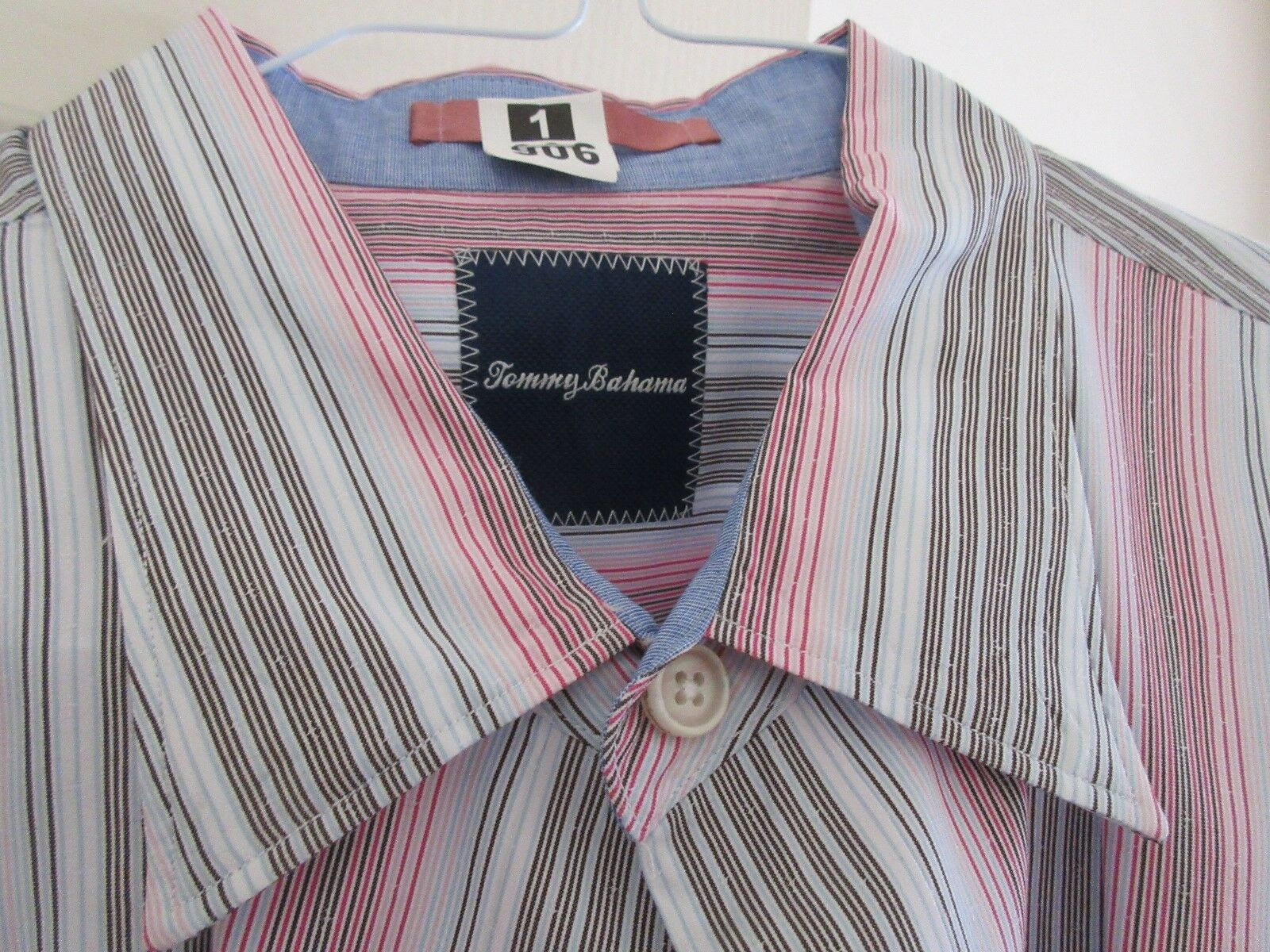 Tommy Bahama , Long Sleeve , Men's XL / TG , 80 % Cotto