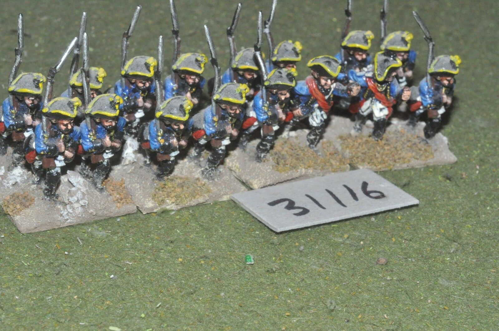 25mm 7YW 7YW 7YW   prussian - musketeers 16 figures - inf (31116) bfdb2f
