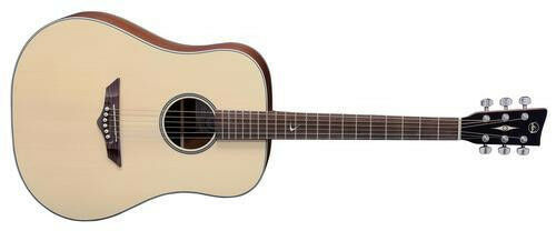 VGS root root root rt-10, Dreadnought, Western guitarra, natural satén 4fe57e