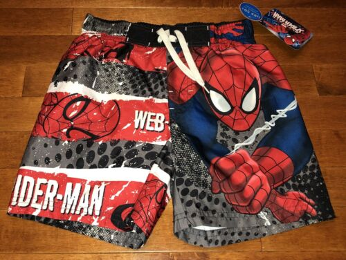 Spider 4 Ultimate Marvel bagno da man New Boy Size Pantaloncini 5 Pnxf7H4