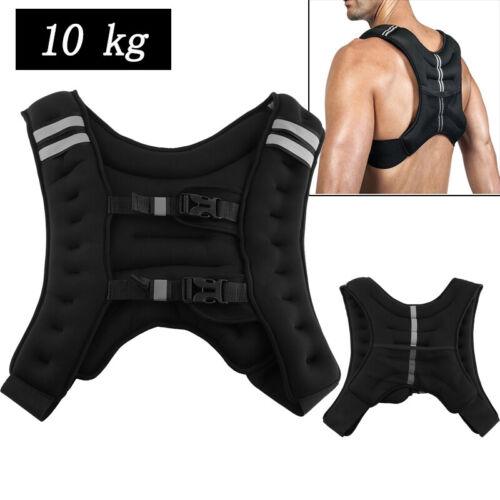 Gewichtweste 10kg Trainingsweste Fitnessweste Laufweste  Gewichte fit 36*20*9cm