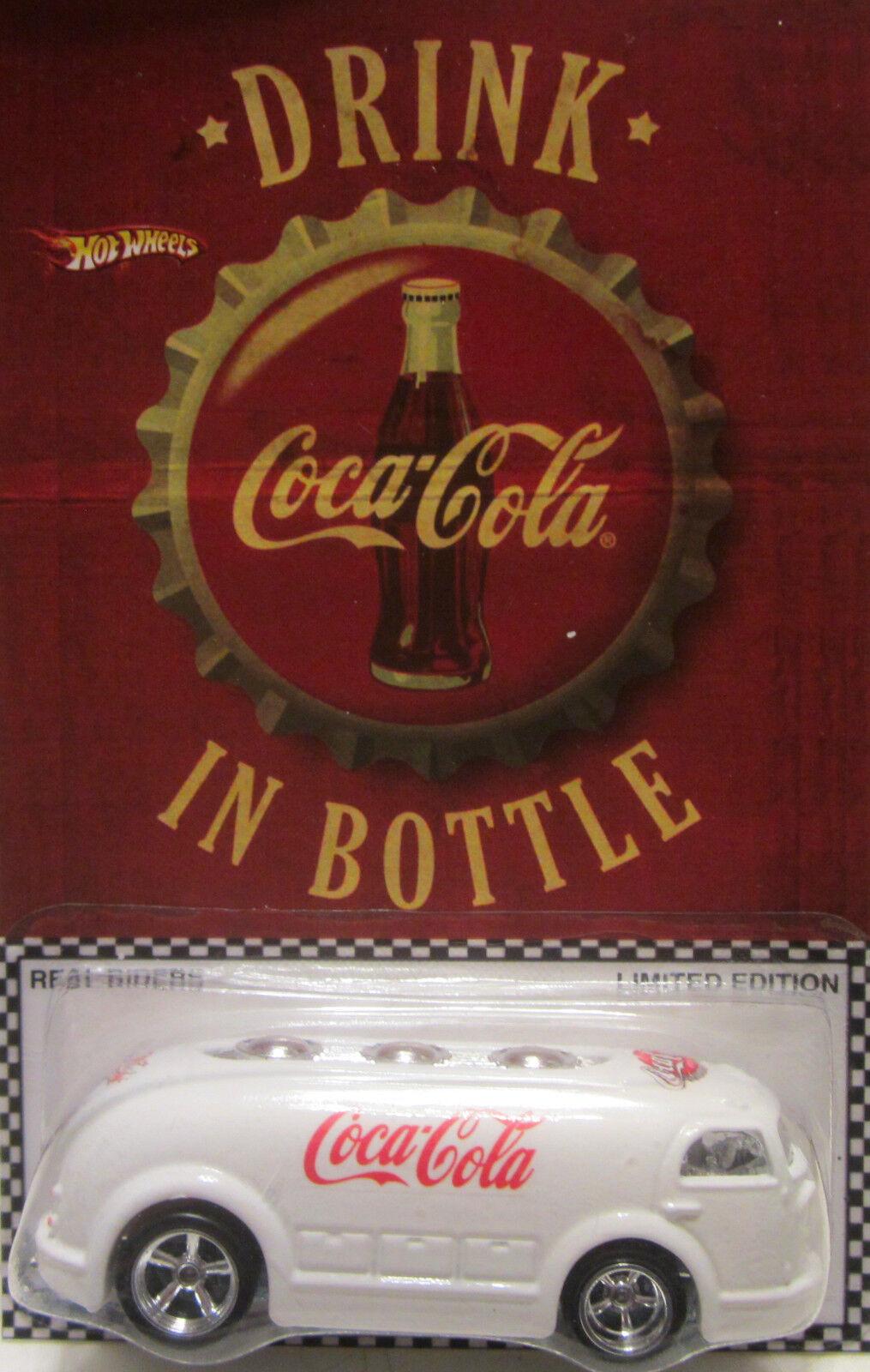 Hot Wheels a Medida Haulin ' Gas Coca-Cola Real Riders Limitado 1 5 Made