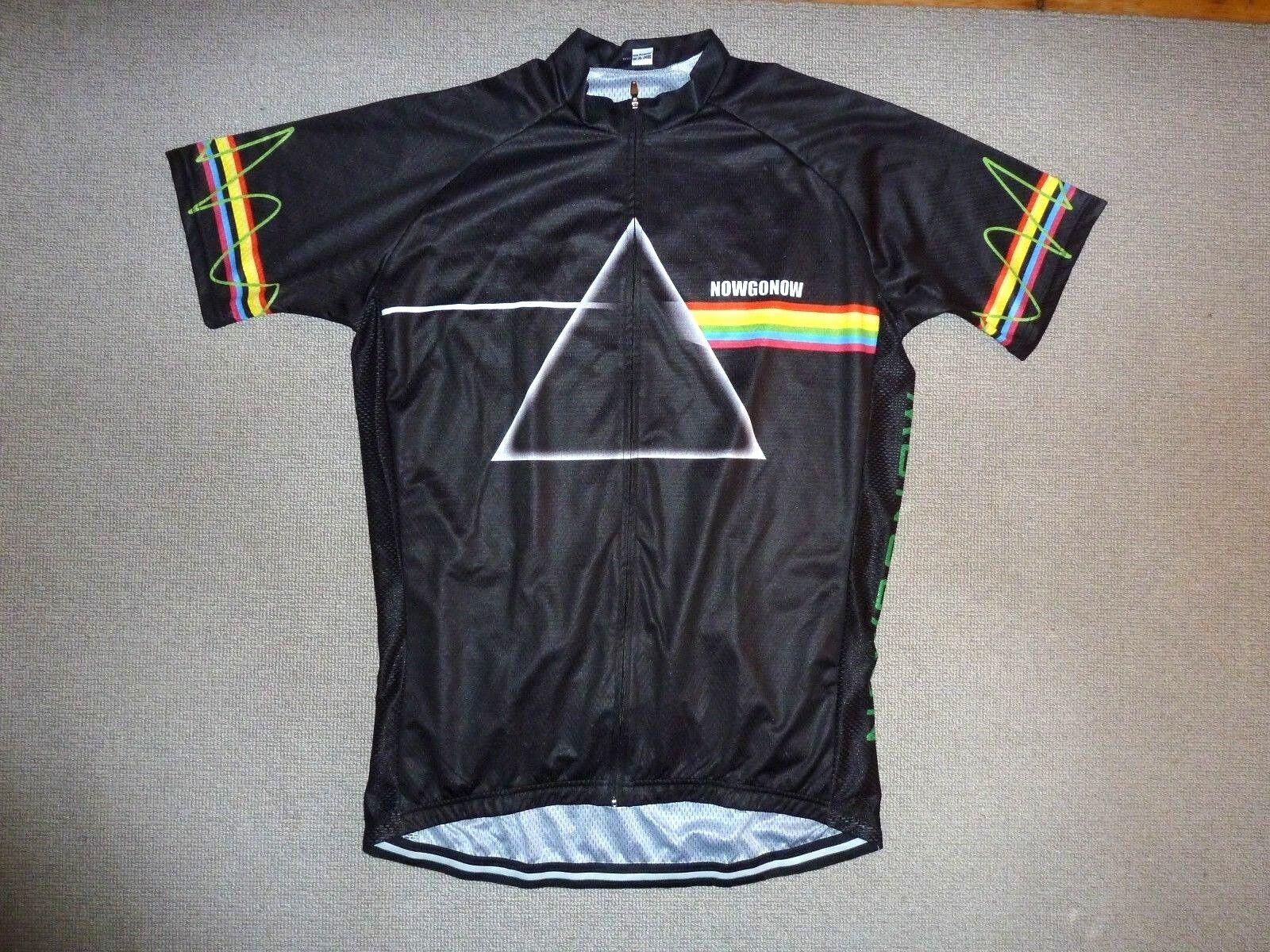 Rosa Floyd Rad Hemd Unterhemd Fahrrad Trikot Top mit / Taschen Oberteil 112cm