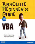 Absolute Beginner's Guide to VBA by Paul McFedries (Paperback, 2004)