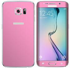 Con Textura Skin Wrap Adhesivo Para Samsung Galaxy S6 Borde Carbono Funda Metal Mate