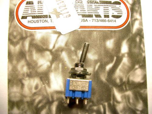 6 Pins black Mini Switch Allparts Schalter On-On