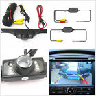 Car Rear Licence Plate Night Vision Camera+2.4GHz Wireless Receiver Transmitter