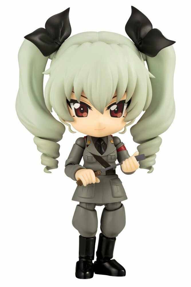 Kotobukiya Queue Posh Cu-poche Girls und Panzer the Movie Anchovy Action Figure