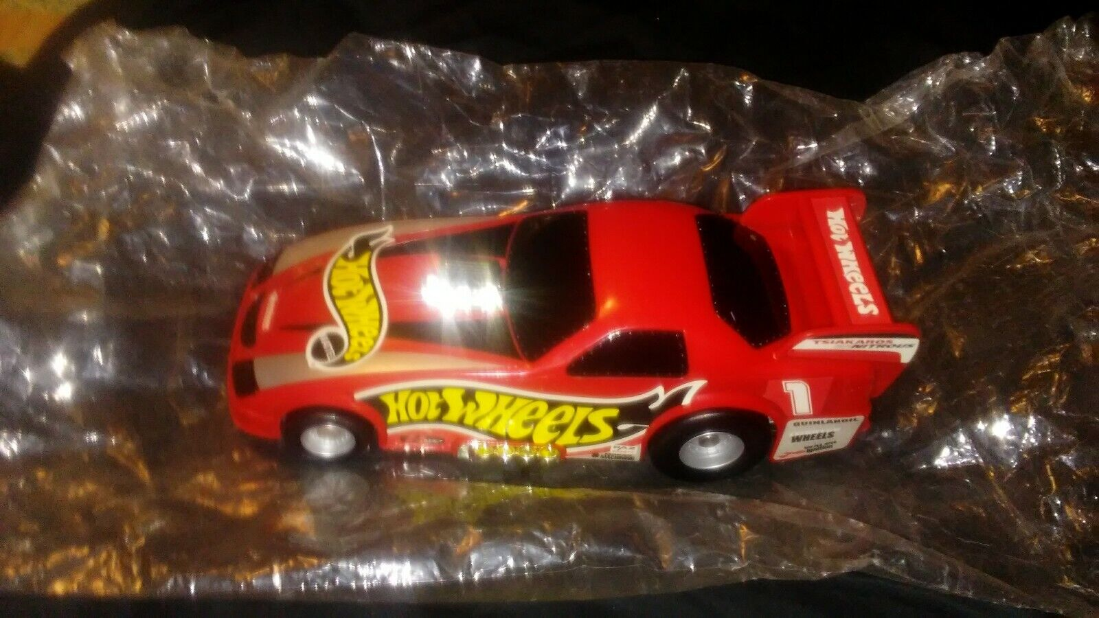 MATTEL HOT WHEELS RED DRAGSTER CAR CARRY CASE 2000