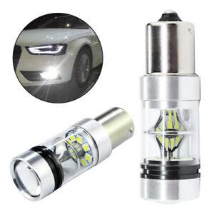 2x-100W-1156-BA15S-382-P21W-Cress-XBD-LED-Stop-Reverse-Light-Canbus-Bulb-UK