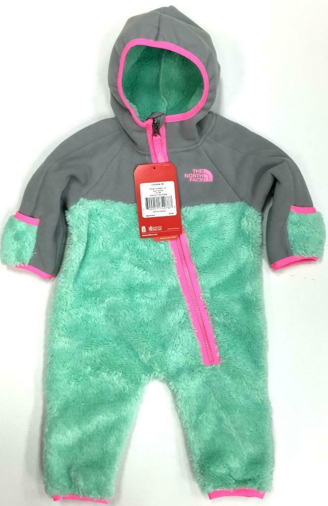 Authentic The North Face Infant Chimborazo Hoodie Surf Green