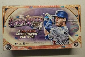 2021 Topps Gypsy Queen Baseball Hobby Box #5 - Factory-Sealed!