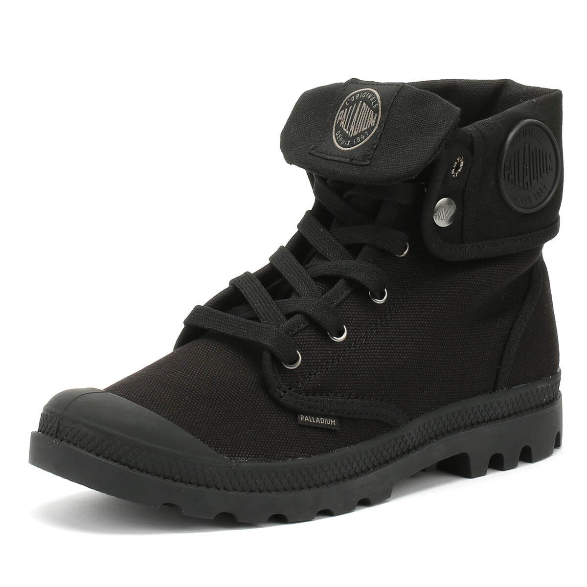 Palladium Baggy Mens Boots Black Lace Up Warm Winter Walking shoes