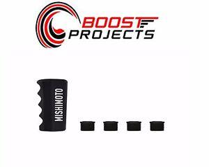 Black MMSK-PGR-BK Mishimoto Pistol Grip Shift Knob
