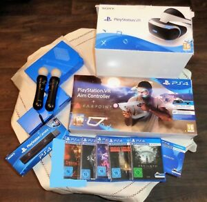 Playstation4 Vr Brille Bundle Aim Controller Farpoint Ps4camera Insg
