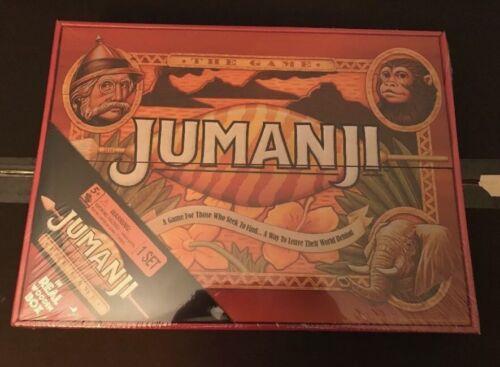 NEW JUMANJI BOARD GAME CARDINAL EDITION REAL WOODEN WOOD BOX! MINTY FRESH! WOW!!