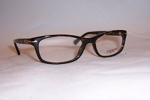 bc2ee2082fb3 Image is loading NEW-COACH-EYEGLASSES-HC-6054-ELISE-5001-TORTOISE-