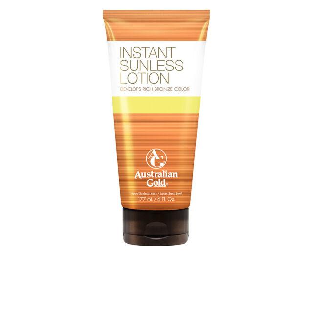Corpo Australian Gold unisex SUNLESS INSTANT rich bronze color lotion 177 ml